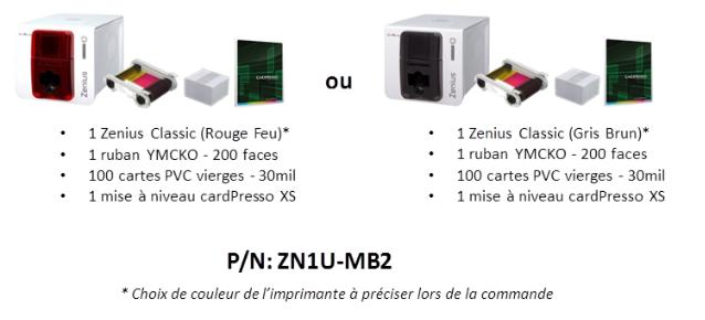 Imprimante de cartes pvc promotion sur la bundle zenius - Imprimante carte pvc ...